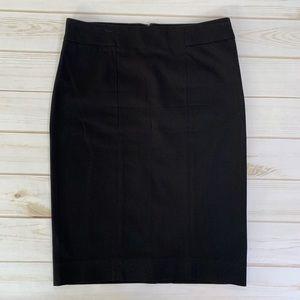 Black pencil skirt by Gap